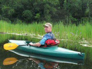 Roger Kayaking
